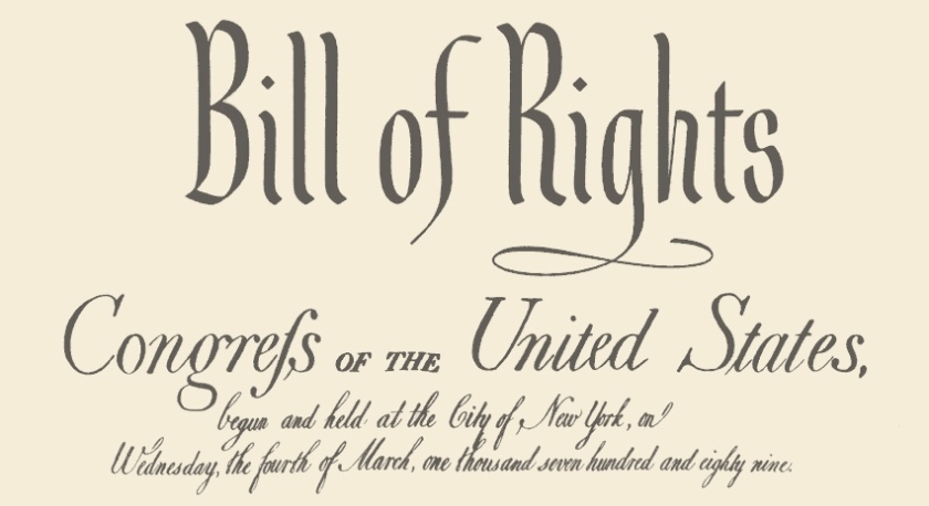 Bill of Rights US Constitution