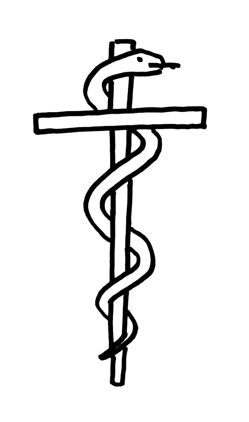 Cross of Asciepius